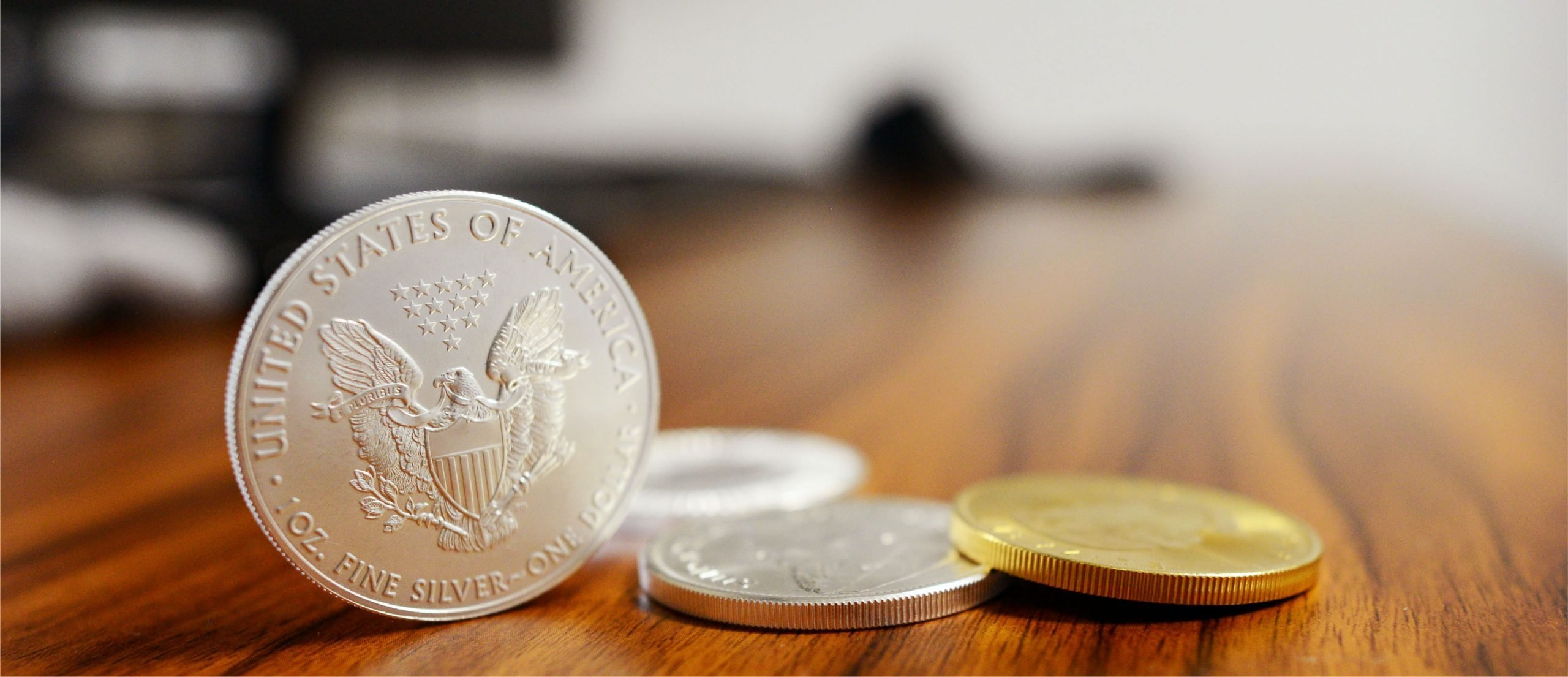 A photo of coins