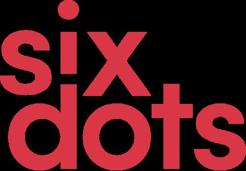 A photo of the Sixdots logo